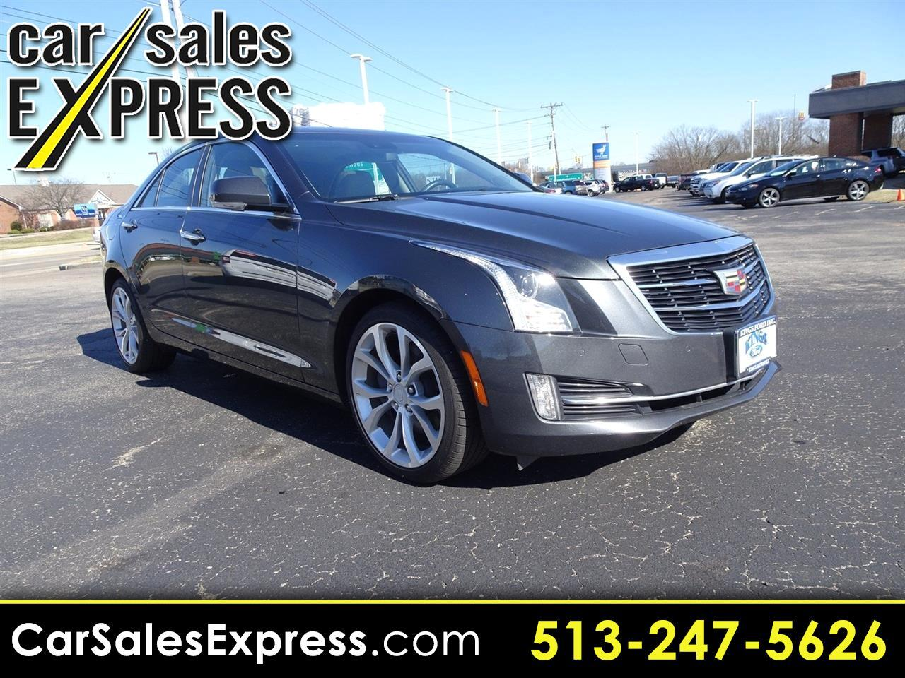 2016 Cadillac ATS Premium Collection AWD