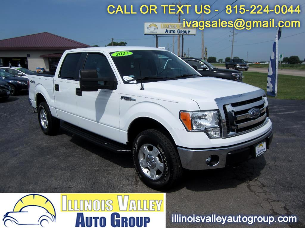 2012 Ford F-150 XLT SuperCrew Short Bed 4WD