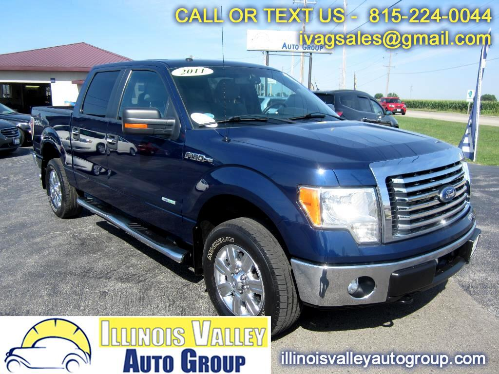 2011 Ford F-150 XLT SuperCrew Short Bed 4WD