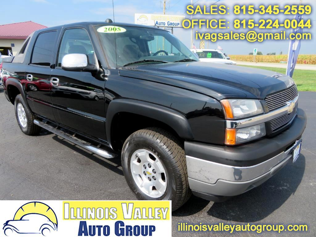 2005 Chevrolet Avalanche LT Crew Cab Short Bed 4WD