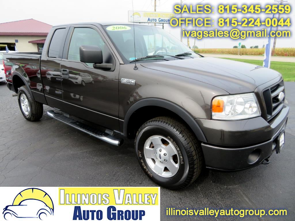 2006 Ford F-150 XL SuperCab Short Bed 4WD