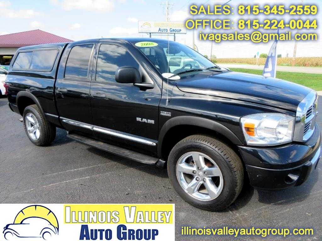 2008 Dodge Ram 1500 SLT Crew Cab Short Bed 4WD