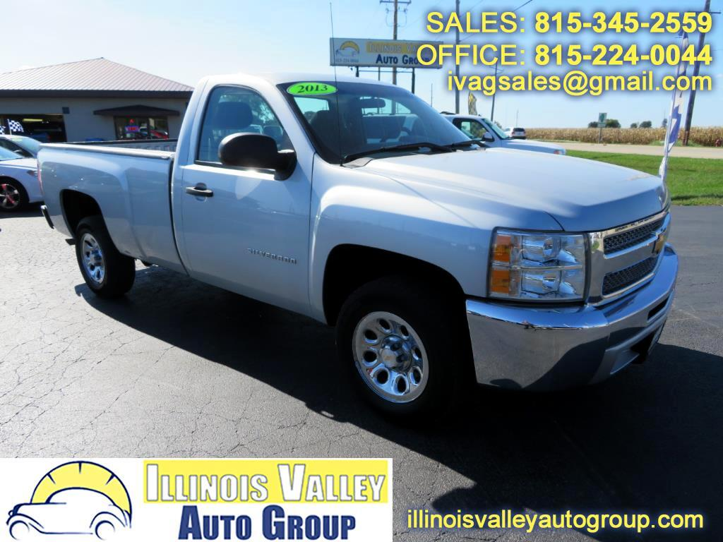 2013 Chevrolet Silverado 1500 LS Reg Cab Long Bed 2WD