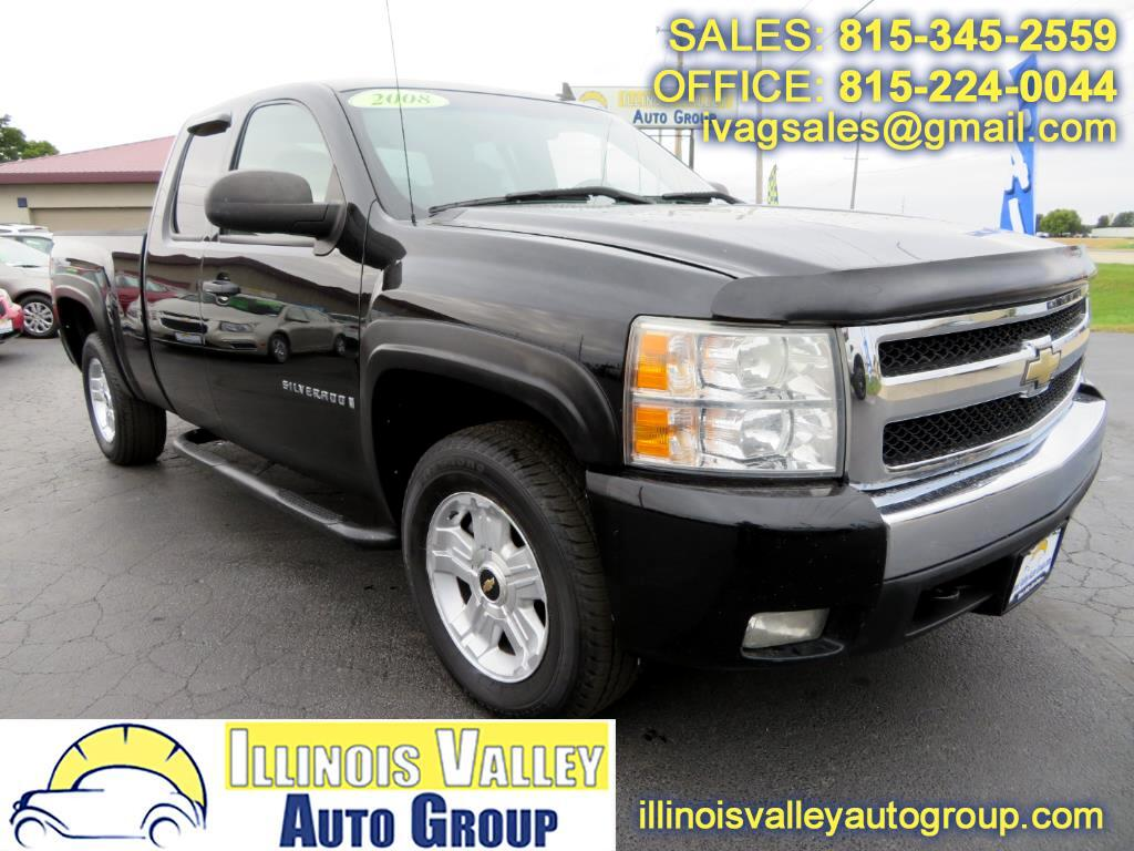 2008 Chevrolet Silverado 1500 1LT Ext. Cab Short Bed 4WD