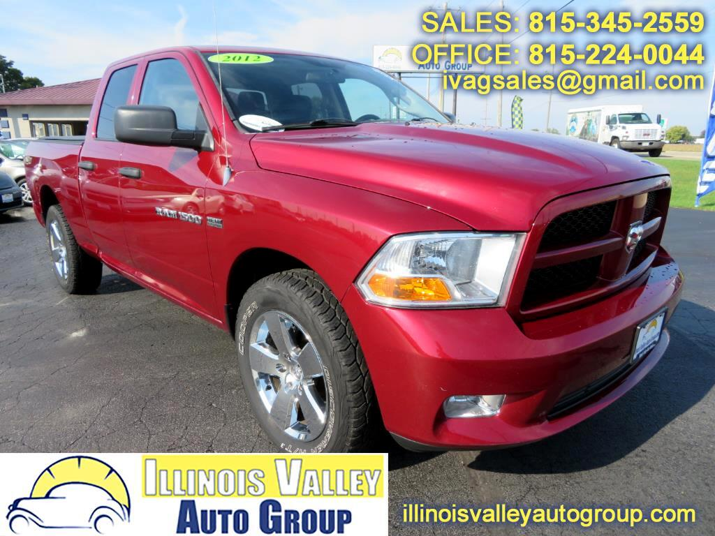 2012 RAM 1500 ST Quad Cab Short Bed 4WD