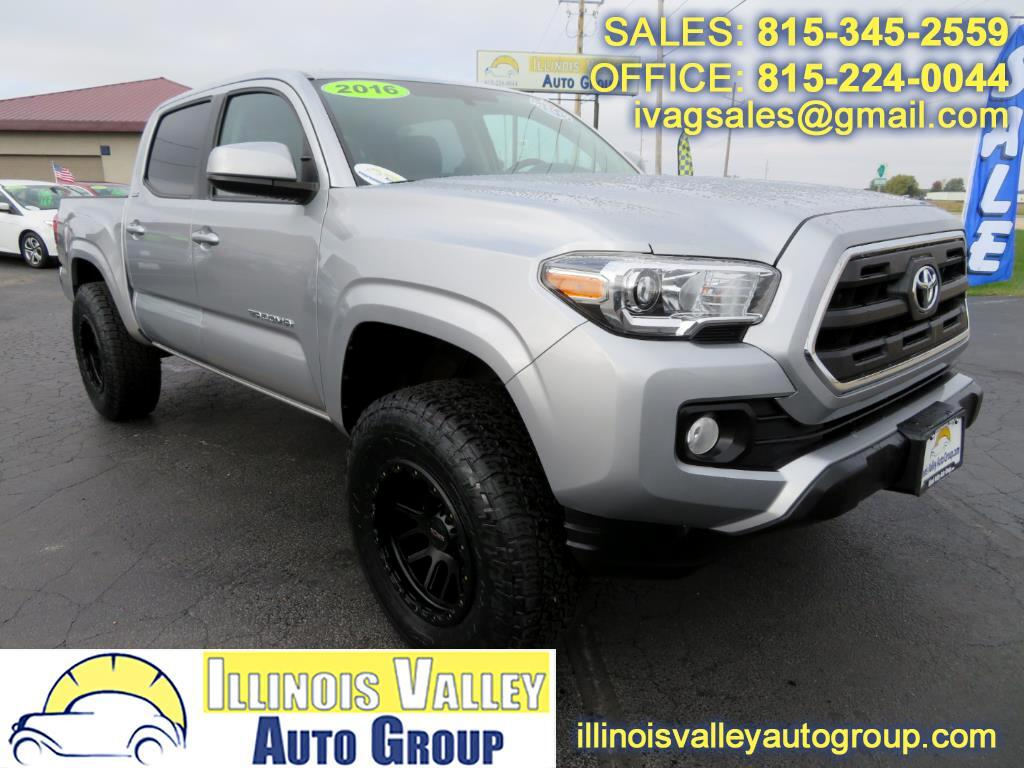 2016 Toyota Tacoma SR5 Double Cab 5' Bed 4X4