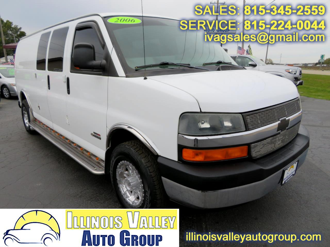2006 Chevrolet Express 2500 Extended Cargo Diesel