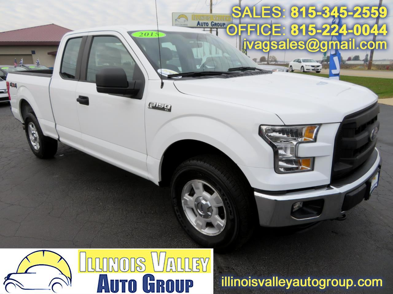 2015 Ford F-150 XL SuperCab Short Bed 4WD