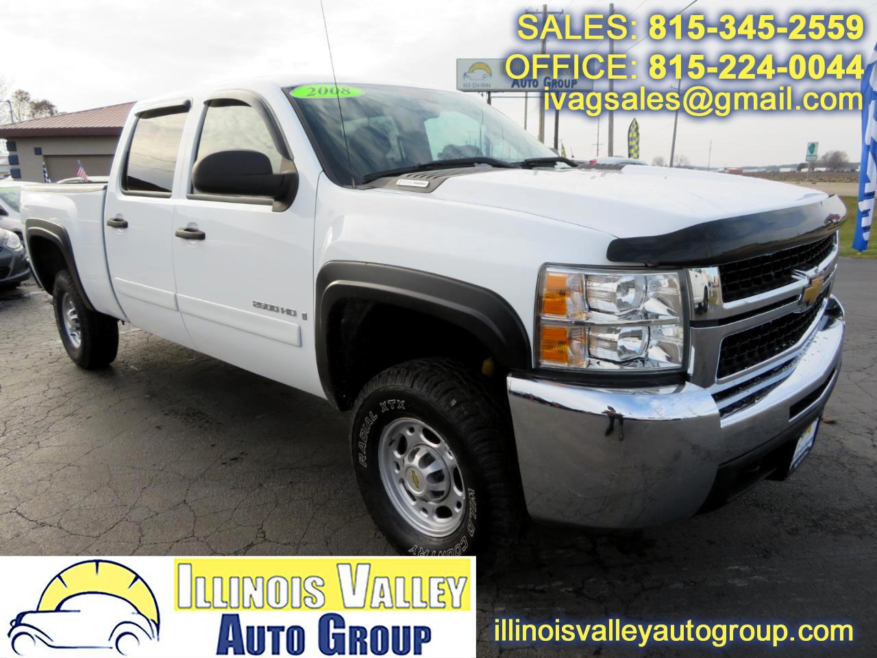 2008 Chevrolet Silverado 2500HD LT1 Crew Cab Short Bed 4WD