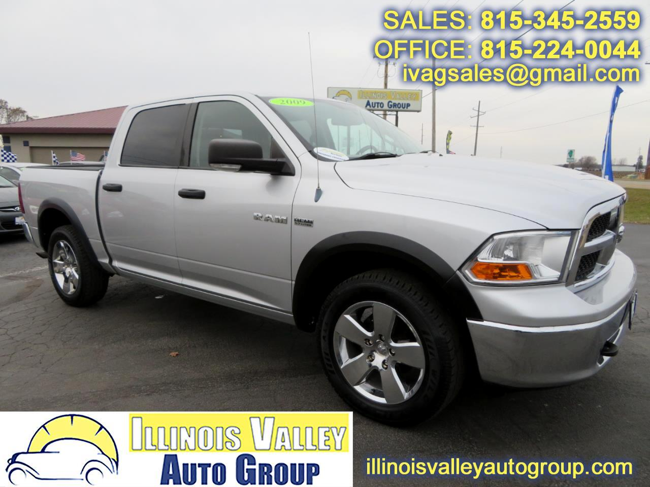2009 Dodge Ram 1500 SLT Crew Cab Short Bed 4WD