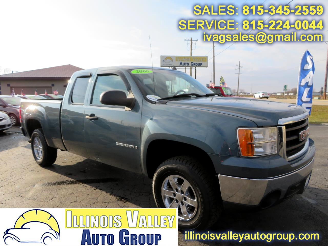 2008 GMC Sierra 1500 SLE1 Ext. Cab Long Bed 2WD