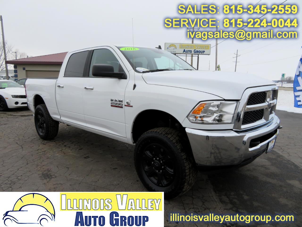 2018 RAM 2500 SLT Crew Cab Short Bed 4WD