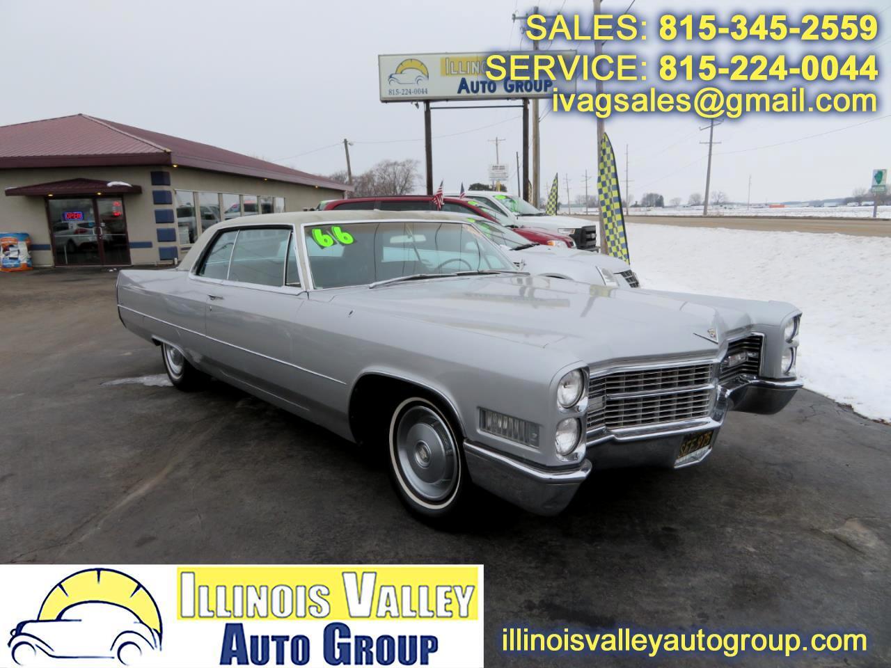 1966 Cadillac Coupe De Ville Base