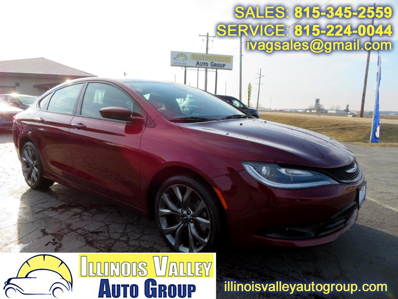 2015 Chrysler 200 S AWD
