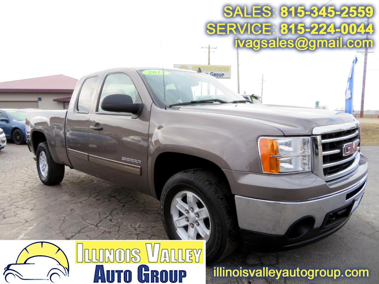 2013 GMC Sierra 1500 SLE Extended Cab Short Bed 4WD