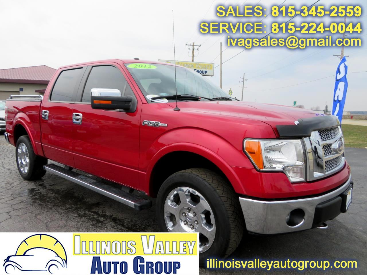 2012 Ford F-150 Lariat SuperCrew Short Bed 4WD