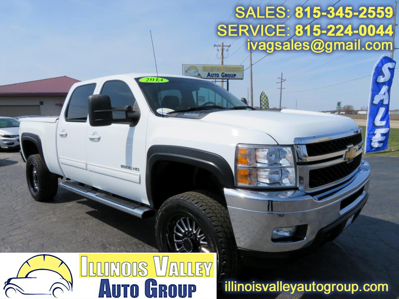 2014 Chevrolet Silverado 2500HD LTZ Crew Cab Short Bed 4WD