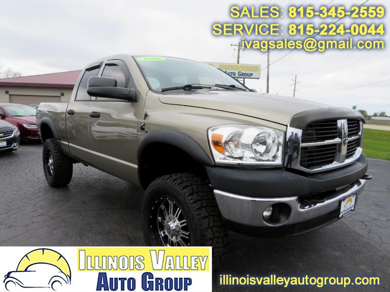 2009 Dodge Ram 2500 SXT Quad Cab Short Bed 4WD