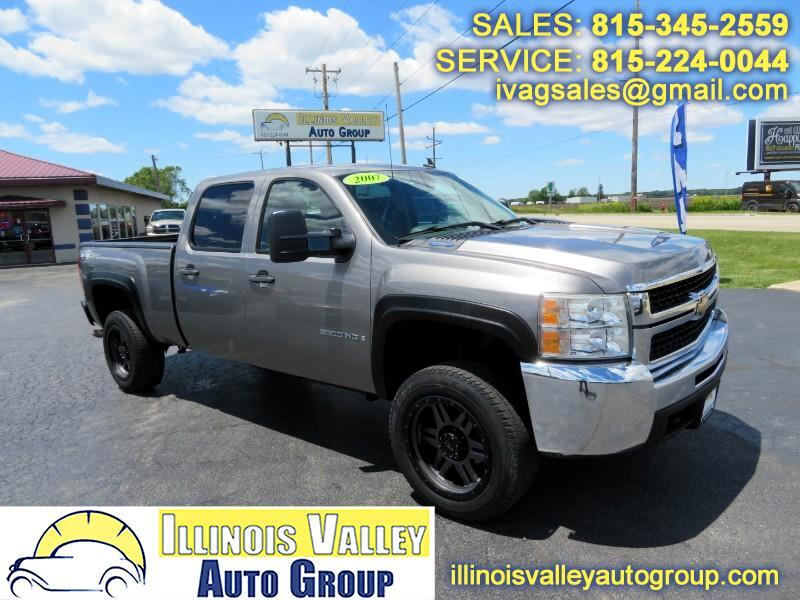 2007 Chevrolet Silverado 2500HD LS Crew Cab Short Bed 4WD