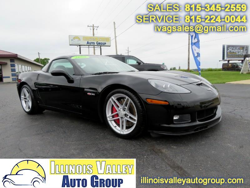 2008 Chevrolet Corvette 1LZ Z06 Coupe Manual