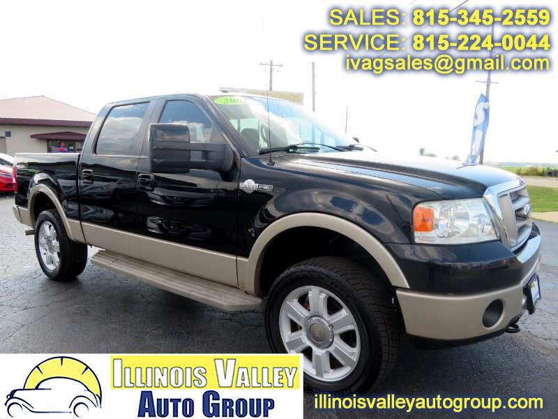 2007 Ford F-150 King Ranch SuperCrew Short Bed 4WD