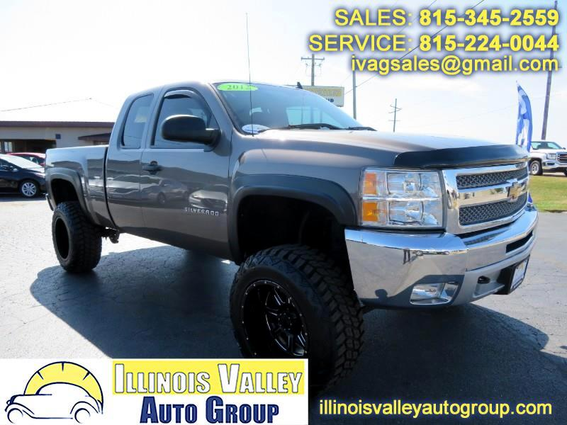 2012 Chevrolet Silverado 1500 LT Ext. Cab Short Bed 4WD