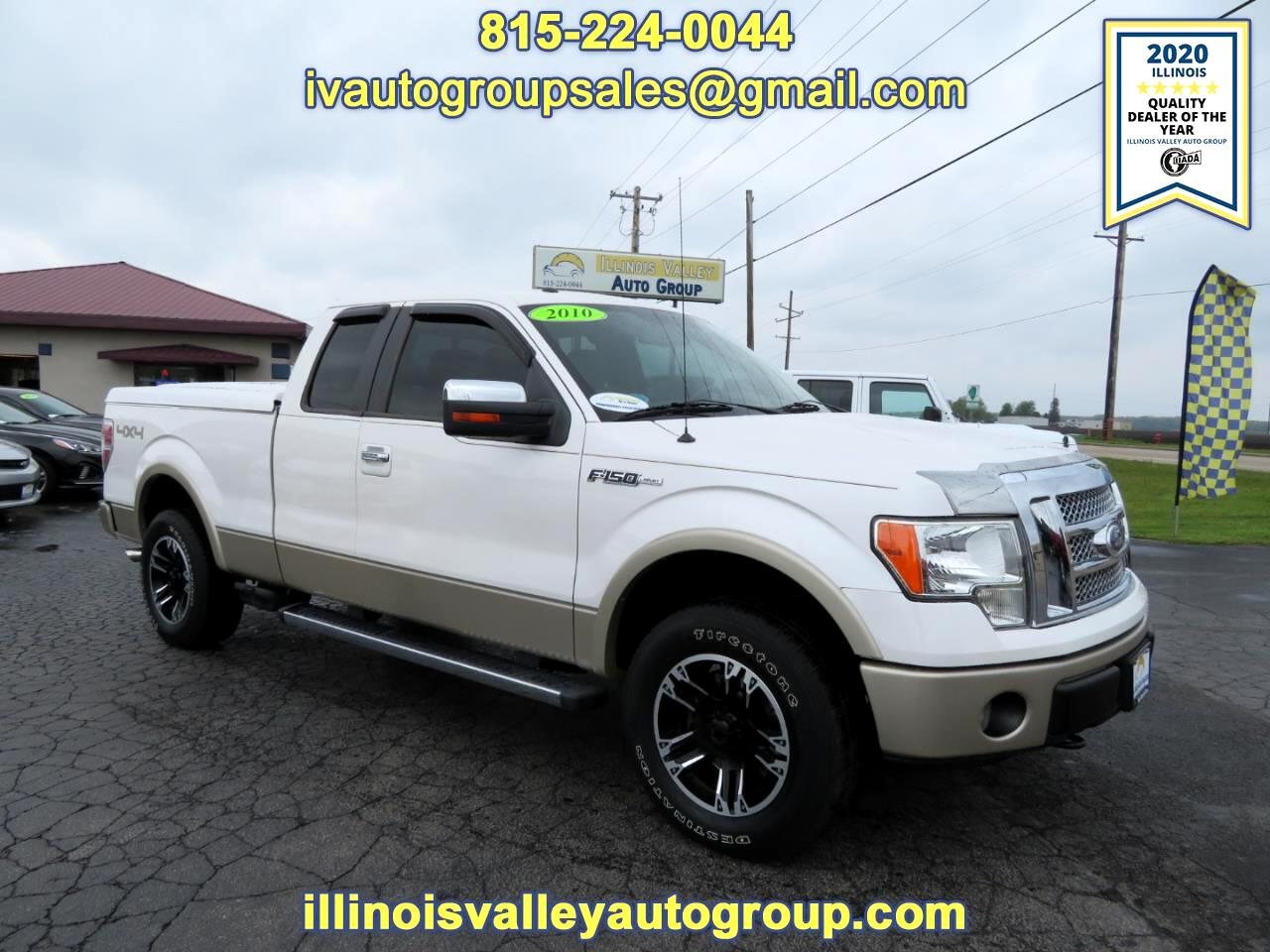 Ford F-150 Lariat SuperCab Short Bed 4WD 2010