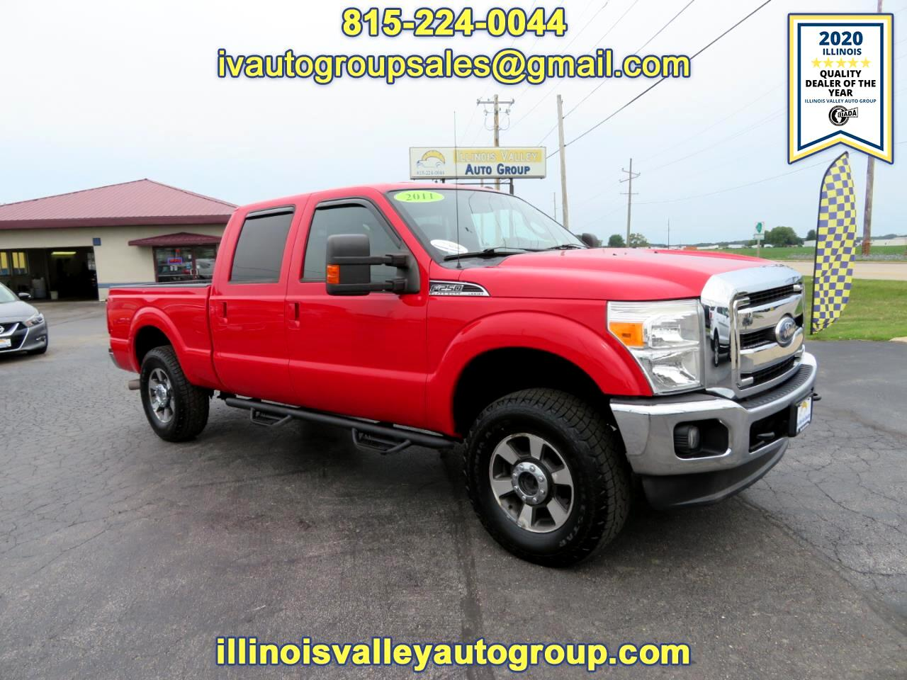 Ford F-250 SD Lariat Crew Cab Short Bed 4WD 2011