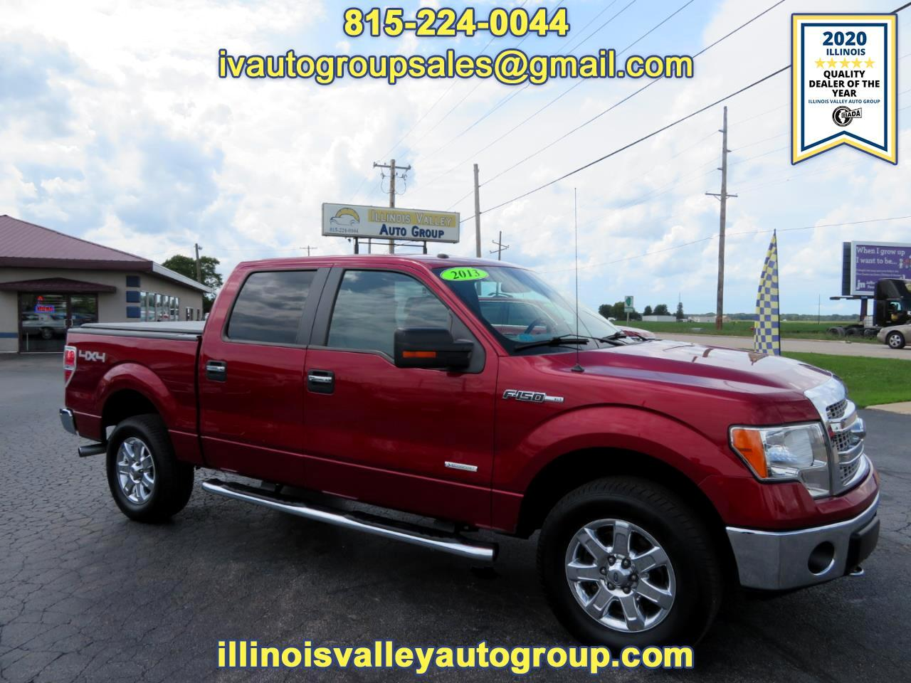 Ford F-150 XLT SuperCrew Short Bed 4WD 2013