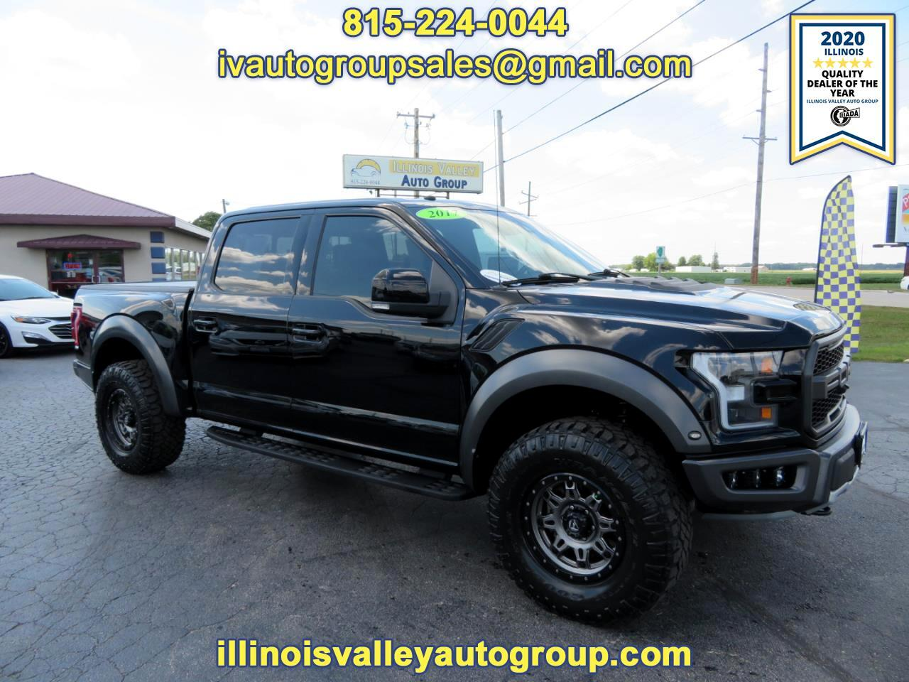 Ford F-150 Raptor SuperCrew 4WD 2017