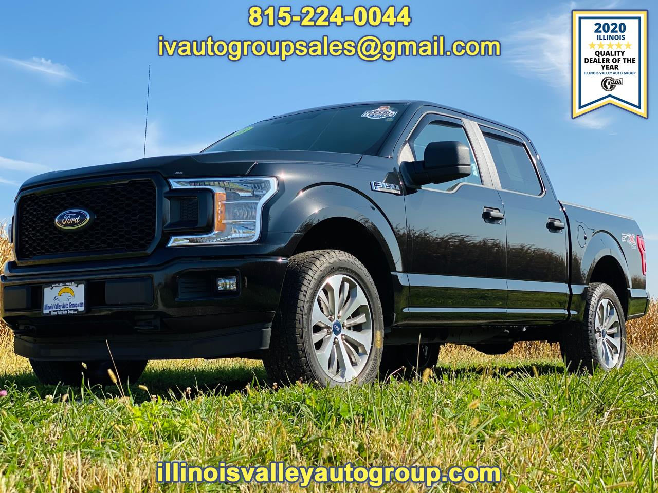 "Ford F-150 4WD SuperCrew 145"" STX 2018"
