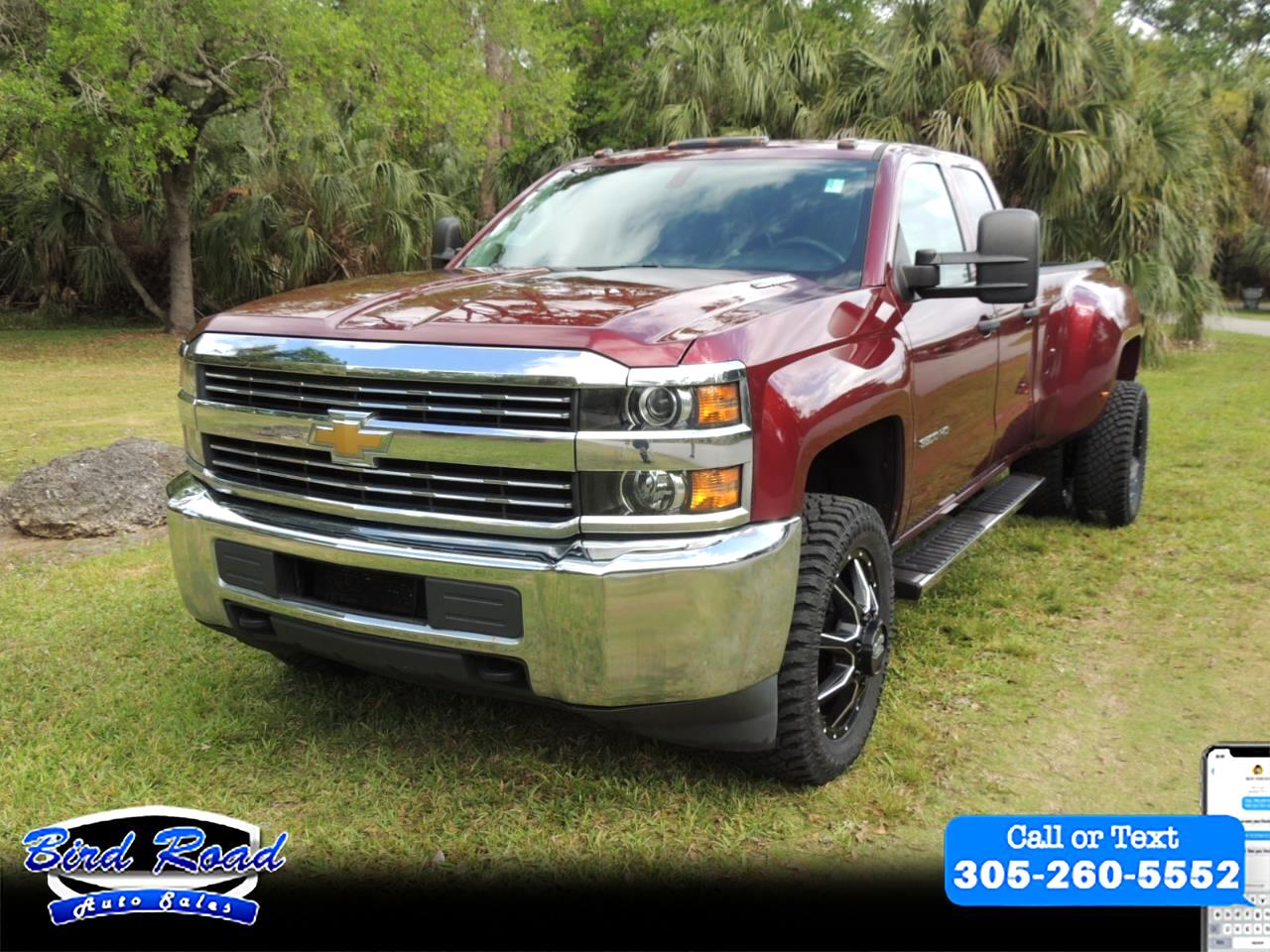 2015 Chevrolet Silverado 3500HD Work Truck Double Cab Long Box 4WD
