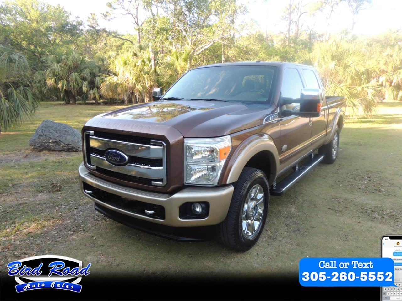 2012 Ford F-250 SD King Ranch 4WD Short Bed