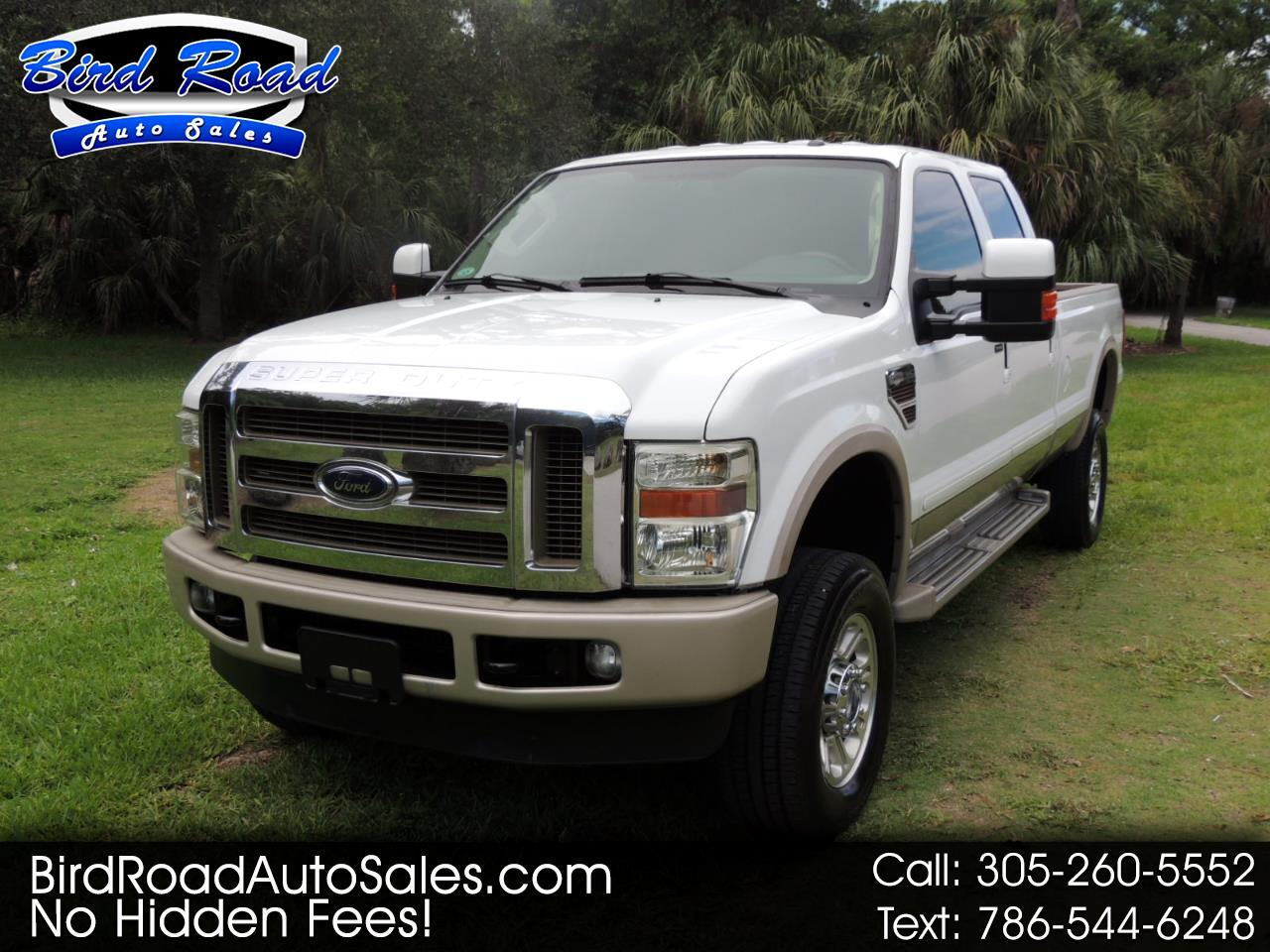 """2010 Ford F-350 SD 4WD Crew Cab 156"""" King Ranch"""
