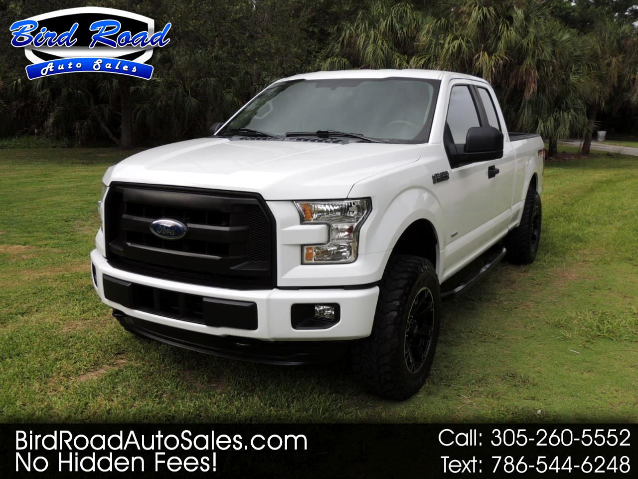 """2016 Ford F-150 4WD SuperCab 145"""" Lariat"""