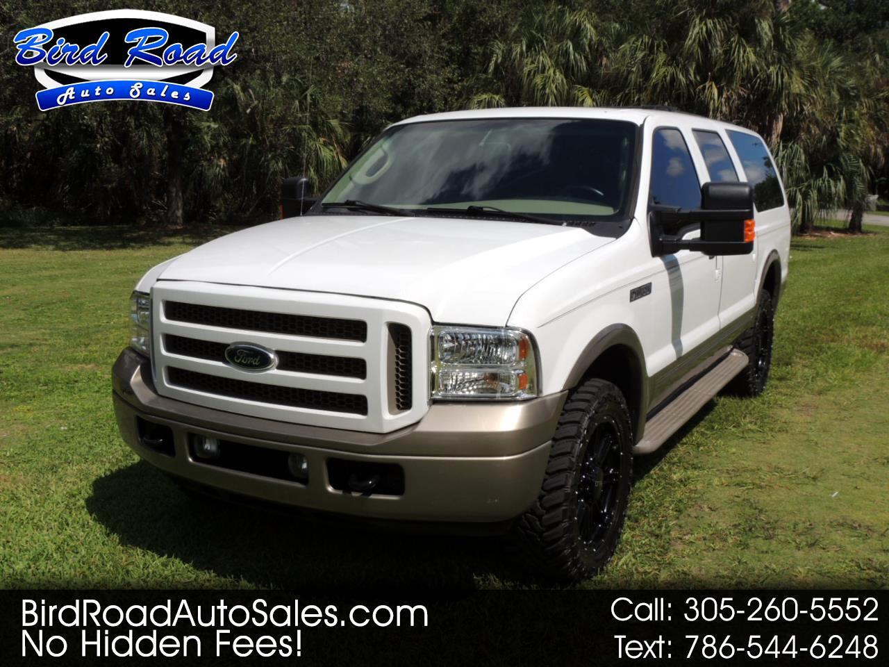 """Ford Excursion 137"""" WB 6.0L Eddie Bauer 4WD 2005"""