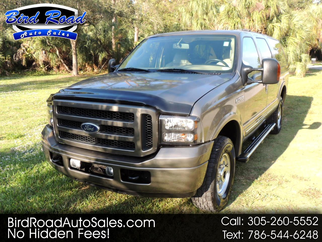 "Ford Excursion 137"" WB 6.0L Limited 4WD 2005"