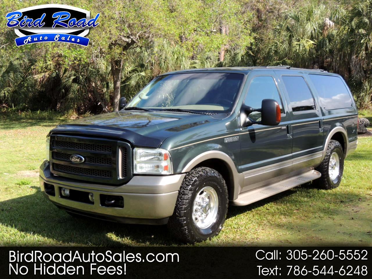 "Ford Excursion 137"" WB 6.0L Eddie Bauer 2005"