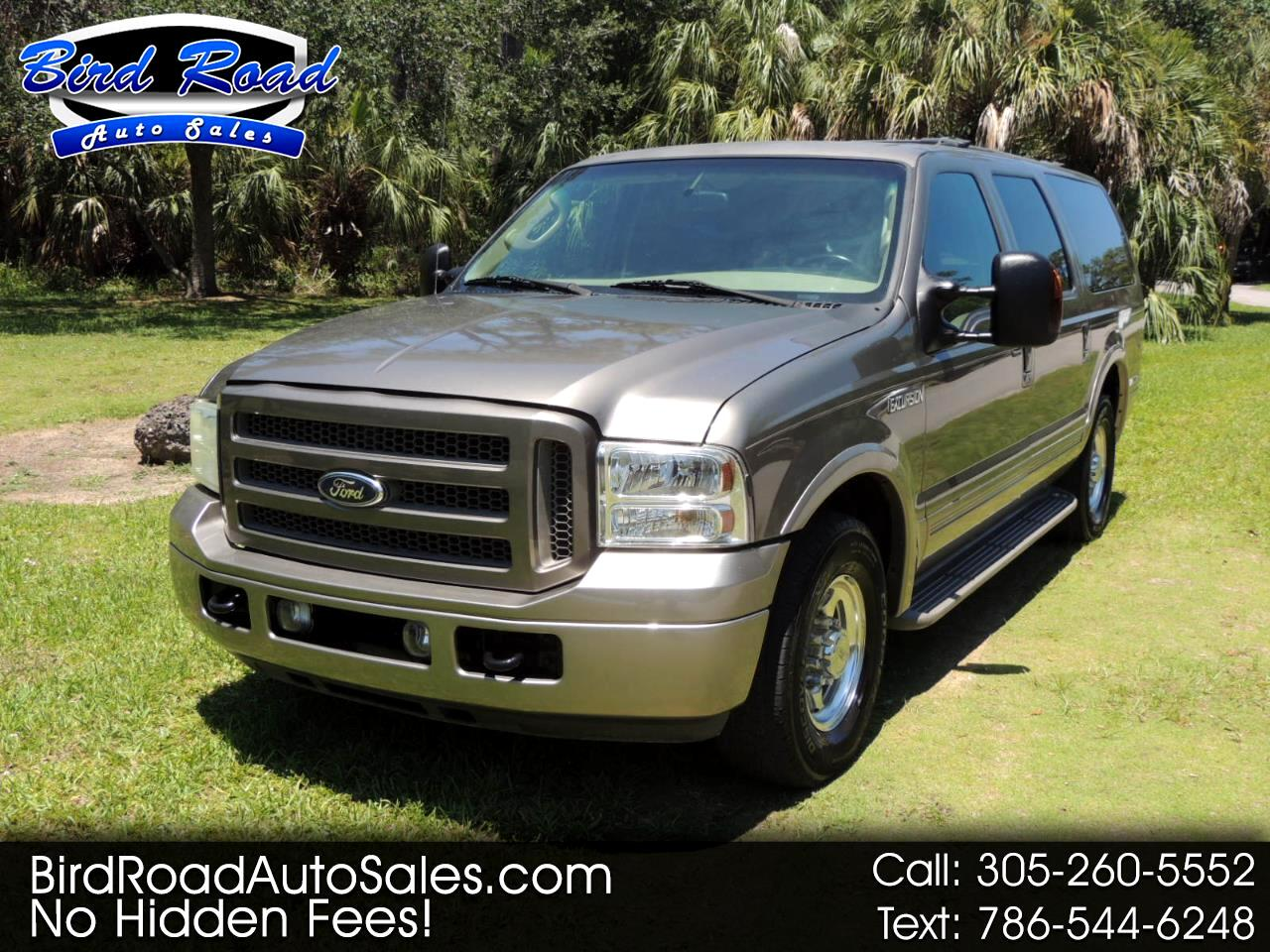 "Ford Excursion 137"" WB 6.0L Eddie Bauer 2005"