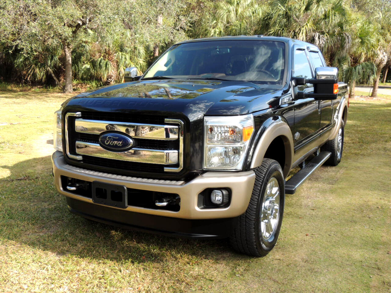 "Ford Super Duty F-250 SRW 4WD Crew Cab 156"" King Ranch 2013"