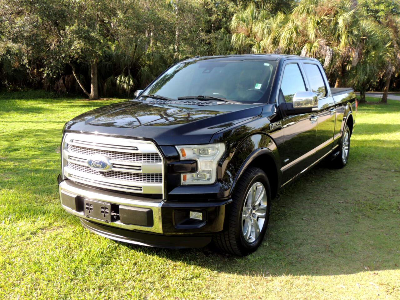 """Ford F-150 2WD SuperCrew 157"""" Platinum 2016"""