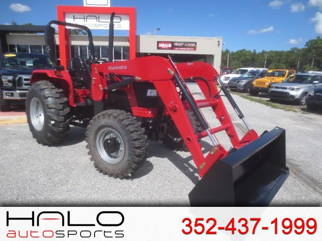 2017 Mahindra 5555 4WD Shuttle FRONT END LOADER