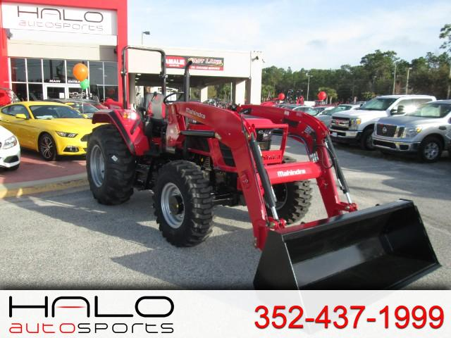 2018 Mahindra 6075 4wd FRONT END LOADER