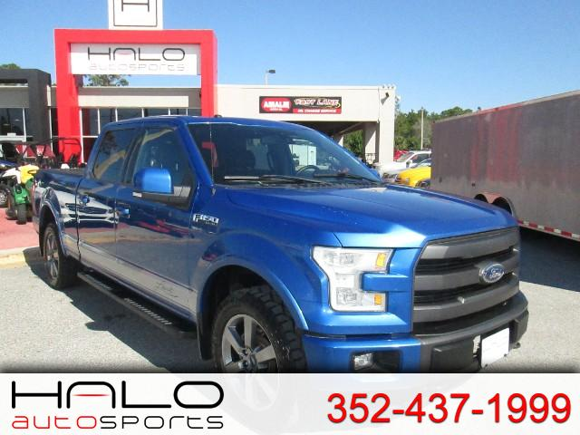 2015 Ford F-150 Lariat 4WD SuperCrew 5.5' Box