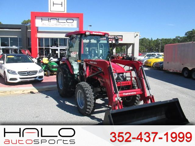2018 Mahindra 2555 Shuttle Cab FRONT END LOADER