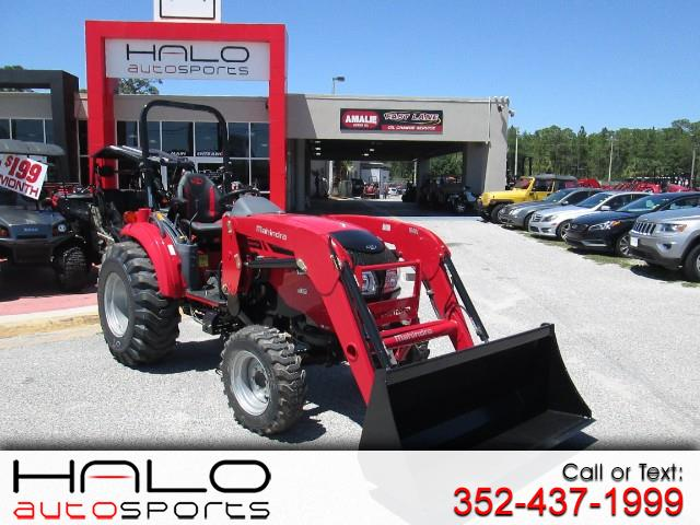 2018 Mahindra 1640 SHUTTLE WITH FRONT END LOADER