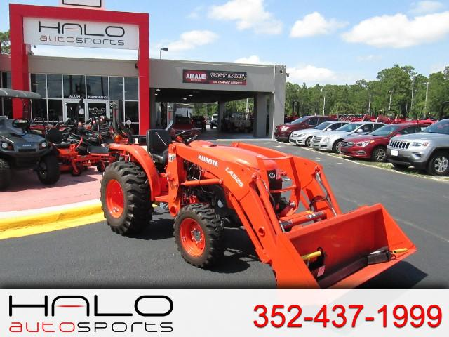 2016 Kubota Tractor 2501L WITH FRONT END LOADER
