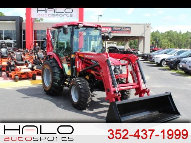 2018 Mahindra 2555 Shuttle Cab LOADER & BACKHOE