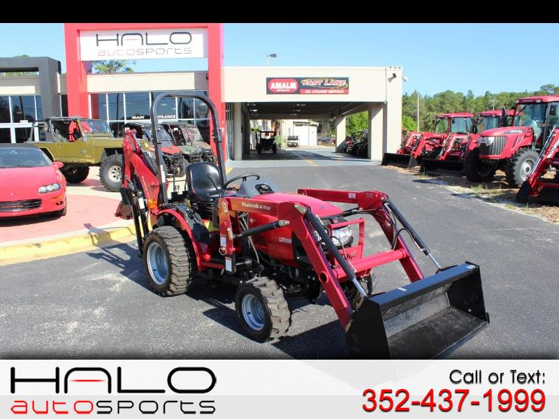 2014 Mahindra Max 25 XL FRONT END LOADER AND BACKHOE