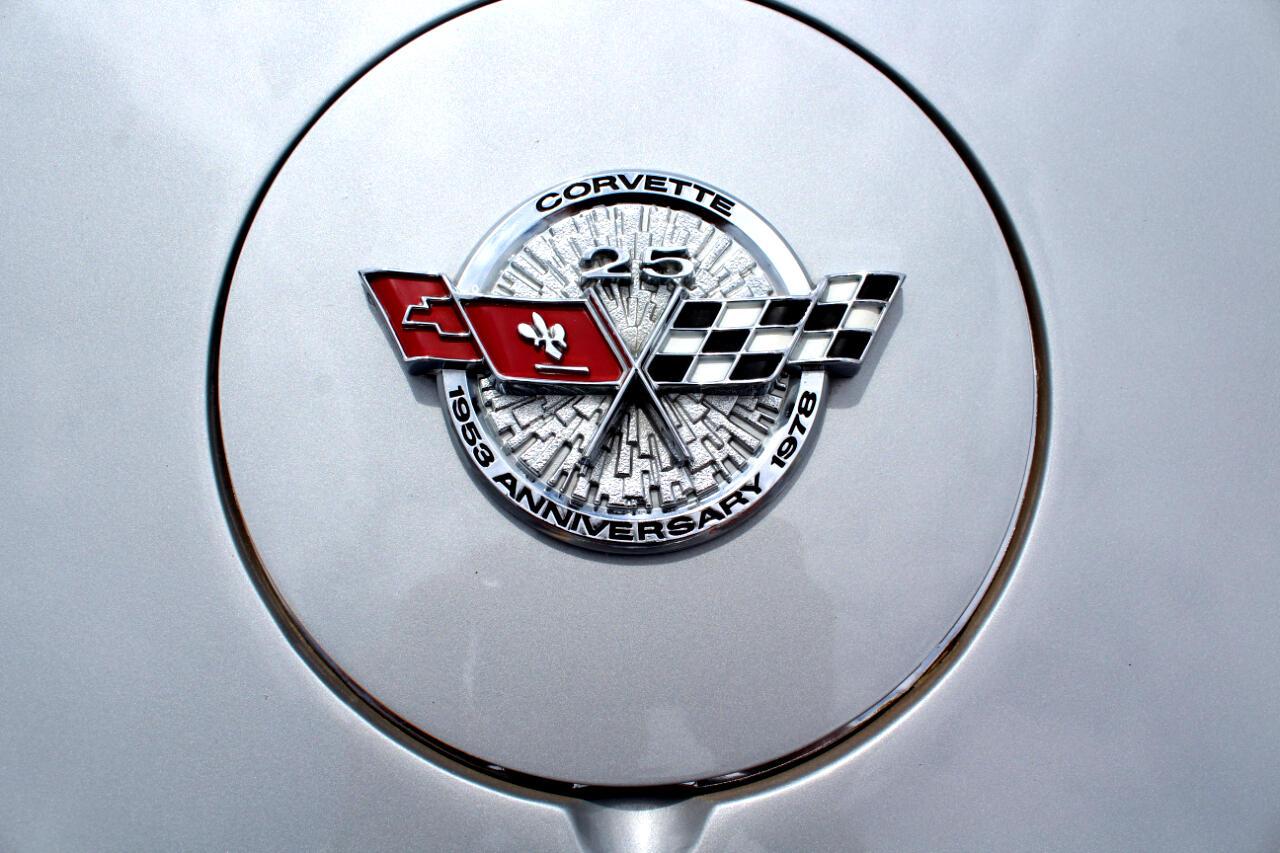 1978 Chevrolet Corvette SILVER ANNIVERSARY CAR